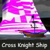 Cross Knight Ship
